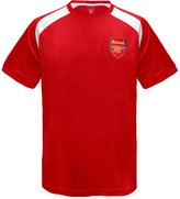 Arsenal F.C. Arsenal FC Official Gift Boys Poly Training Kit T-Shirt 8-9 Yrs MB
