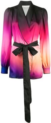 Mary Katrantzou ombre print jacket