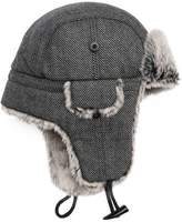 Peter Grimm Lennox Diagonal Stripe Trapper Hat