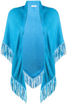 Bajra fringed trim cape - women - Viscose - One Size
