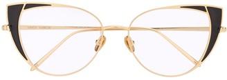 Linda Farrow Cat Eye Optical Frame
