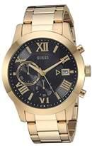 GUESS U0668G8 (Gold-Tone/Black) Watches