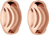 Links of London Essentials rose-gold vermeil beaded stud earrings