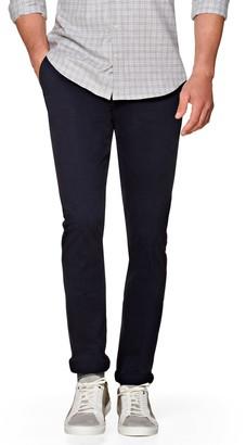 Suitsupply Porto Skinny Fit Stretch Cotton Chinos