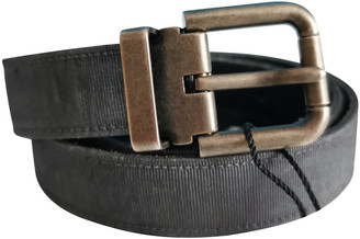 Dolce & Gabbana Grey Leather Belts