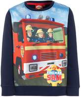 Fireman Sam FEUERWEHRMANN Sweatshirt navy/rot