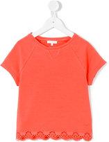 Chloé Kids - short-sleeved T-shirt - kids - Cotton/Spandex/Elastane - 4 yrs