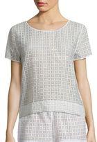 Hanro Mathilde Short Sleeve Top