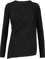Needle & Thread Draped stretch-jersey top
