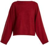 Vanessa Bruno Harlow open-back alpaca-blend sweater