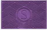 "Bed Bath & Beyond Weather GuardTM Diamonds Monogrammed ""S"" 23-Inch x 35-Inch Door Mat"