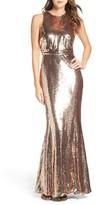 LuLu*s Sequin Mermaid Gown