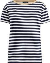 Ralph Lauren Stripe Button-Shoulder T-Shirt