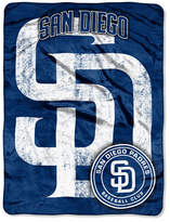 Northwest Company San Diego Padres Micro Raschel Triple Play Blanket