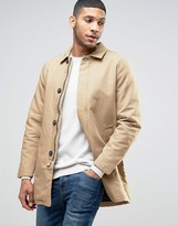 Jack and Jones Originals Trench In Cotton Twill