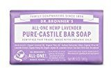 Dr. Bronner's Dr Bronner Lavender Soap Bar 140g (PACK OF 4)