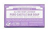 Dr. Bronner's Dr Bronner Lavender Soap Bar 140g (PACK OF 6)