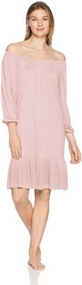 Hanro Women's Malva 3/4 Sleeve Gown