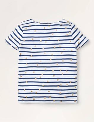 Short-sleeved Breton