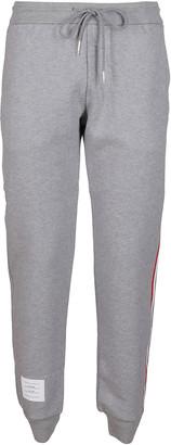 Thom Browne Light Grey Cotton Track Pants