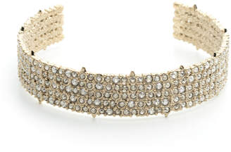 Alexis Bittar Crystal-Encrusted Spike Choker Necklace