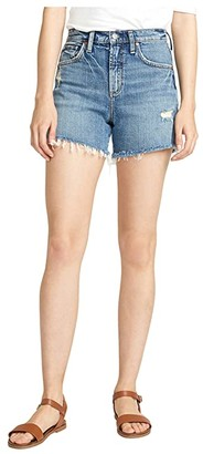Silver Jeans Co. Frisco High-Rise Shorts L54605RCS248 (Indigo) Women's Shorts