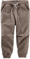 Osh Kosh Boys 4-8 Ribbed Pork Chop Pocket Twill Jogger Pants