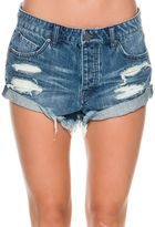 Volcom Stoned Short Rolled Denim Short