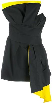 Alexandre Vauthier Contrast Lining Dress