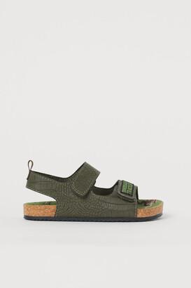 H&M Graphic-detail Sandals