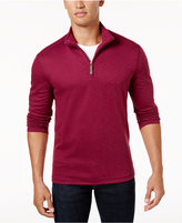Tasso Elba Men's Quarter-Zip Performance Sweater, Created for Macy's