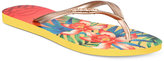 Havaianas Women's Slim Tropical Flip-Flops
