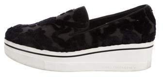 Stella McCartney Binx Velvet Sneakers
