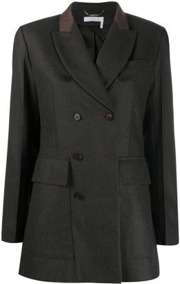 Chloé Double-Breasted Blazer Jacket