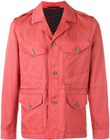 Paul Smith cargo pocket shirt jacket - men - Cotton/Cupro - S