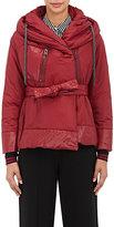 Bacon Women's Hooded Jacket-BURGUNDY