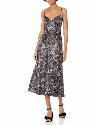 ASTR the Label Women's Coralie Sleeveless Midi A-line Slip Dress