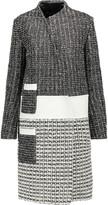 Proenza Schouler Asymmetric woven leather coat