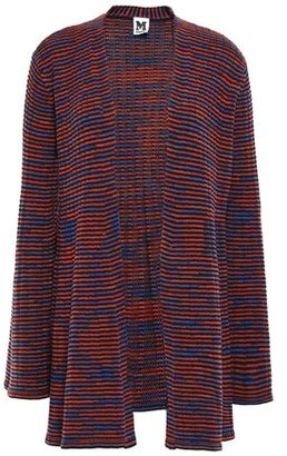 M Missoni Crochet-knit Wool Cardigan