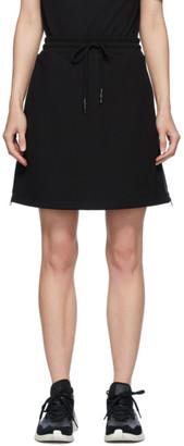 McQ Black Swallow Logo Tape Short Skirt