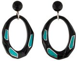 Ippolita Turquoise & Resin Oval Drop Earrings