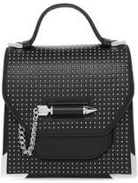 Mackage Rubie-St Studded Structured Leather Shoulder Bag In Black