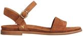 Windsor Smith Bae Suede Tan Sandal