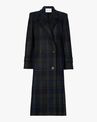 Michelle Waugh The Melanie Double Breasted Wool Coat