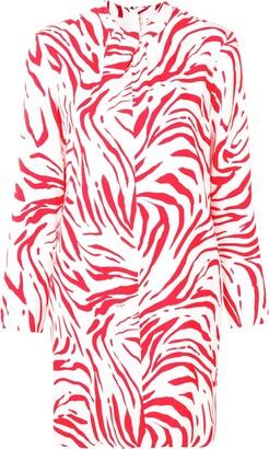 MSGM abstract print short dress