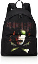 Givenchy Men's Army Skull-Print Classic Backpack-BLACK