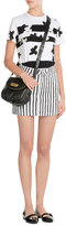 Marc by Marc Jacobs Striped Denim Skirt
