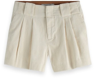 Scotch & Soda Wide Leg Corduroy Shorts