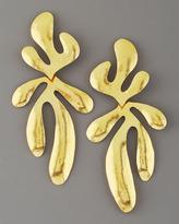 Herve Van Der Straeten Coral Earrings