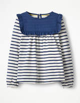 Boden Frilly Smock Top